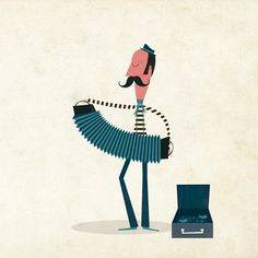 Dilly Foxtrot Investigates: My new favourite illustrator - Andrew Bannecker