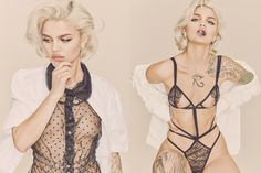 CR Fashion Book - AMINA BLUE IN 'NOT SAFE FOR WORK'