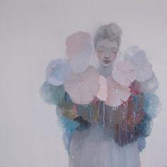 The Paper Mulberry: Kristin Vestgard Solo Show Norway Paper Mulberry, Pot Pourri, Kunst Online, Face Art, Art Faces, Art Inspo, Norway, Cool Art, Art Projects