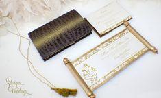 Gorgeous Ganesh Indian Wedding Invitation Scroll 2.0 by SDezigns