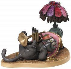 *SCAT CAT ~ WDCC Disney Classics_The Aristocats Scat Cat Cool Cat Artist Signed