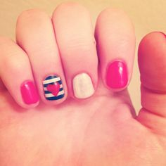 Fourth of July nails Credit to Laura Easter!! @Laura Jayson Jayson Easter