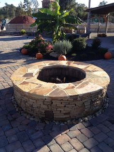 Pavestone Paver Patio Fire Pit And Seat Walls With Columns In Charlotte Nc Charlotte