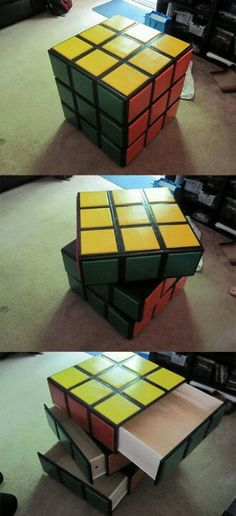 The only Rubik's cube I could figure out!