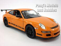 Porsche 911 GT3 RS 1/24 Diecast Metal Model by Welly