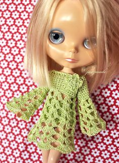 After publishing the crochet pattern for the Soul Trumpet Dress for Blythe