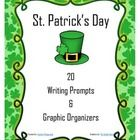 You are your students will enjoy these fun and create writing prompts and graphic organizers with a St. Patrick's Day theme. There are 20 to choose...