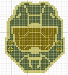 """The perfect complement to the """"Home is where the Xbox is"""" cross stitch. #Halo4 (M) #Masterchief"""