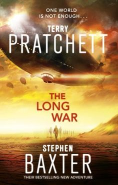 The Long War (Long Earth 2) by Terry Pratchett, http://www.amazon.co.uk/dp/B00CJEG0H2/ref=cm_sw_r_pi_dp_ObUXtb109HZ0N