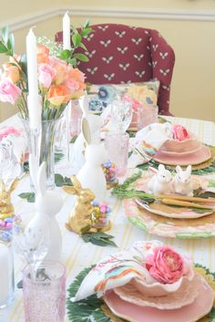 Just a Few Quick and Cute Easter Decor Ideas to Inspire Your Easter Dinner, Basket and Porch TFT