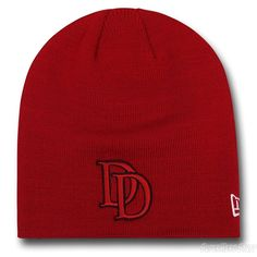539fccb57df Daredevil Symbol Red Beanie