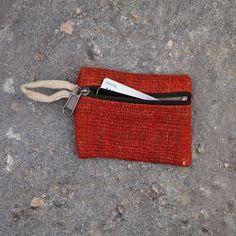 Hemp Pouch Bag Wallet Natural Eco Friendly Organic Handmade in Nepal Nepal Trekking, Singing Bowl, Hemp Fabric, Natural Tan, Hippie Bohemian, Casual Bags, Pouch Bag, Eco Friendly, Coin Purse
