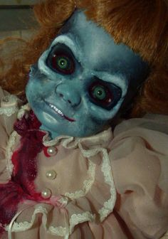 """Are you kidding me???    Previous comment: """"Drop dead Gorgeous Zombie Altered Horror Doll by FreakasaurusRex, £70.00"""""""