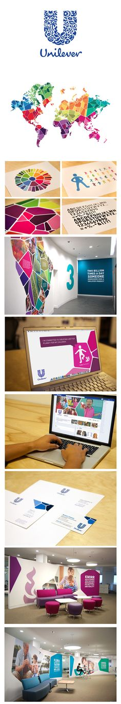 Unilever corporate design