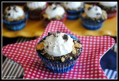 S'mores Cupcakes - Shugary Sweets