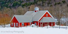 Backroad Barns and Fresh Fallen Snow One of the things I love about driving the backroads of Vermont and New Hampshire are the many barns and farms I stumble upon. It's always a nice surprise to ca...