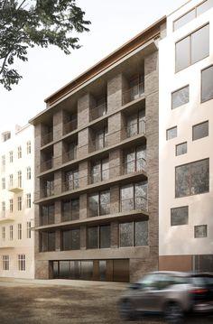 Choriner Straße – TKA Home Architecture Styles, Architecture Today, Information Architecture, Brick Architecture, Architecture Student, Contemporary Architecture, Architecture Details, Amazing Architecture, Building Exterior