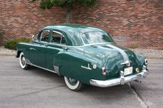 1952 Pontiac Fleetleader Maintenance of old vehicles: the material for new cogs/casters/gears could be cast polyamide which I (Cast polyamide) can produce