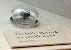 The bullet that took Lincoln's life.