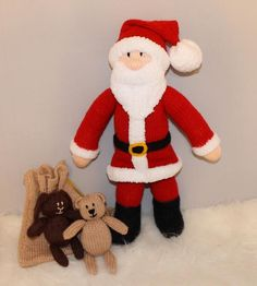 (6) Name: 'Knitting : Santa Claus / Christmas Father