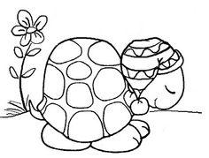 Digital Doodling: Free digital stamp - 'Sleepy Toto the Turtle'