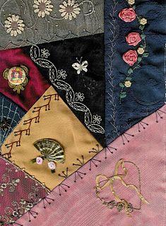 Such beautifully delicate stitching!  ~Klasko
