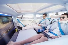 rinspeed XchangE autonomous EV is an office + living room on wheels - designboom | architecture & design magazine