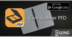 Cam Scanner PDF convert images to pdf in 2 seconds and turns your paper documents to PDF documents.  Cam Scanner PDF is a scanner app that turns android device into a portable document scanner and scan everything as images or PDFs.  Cam Scanner PDF creates multipage PDF files from images in your device or scanned by your camera.