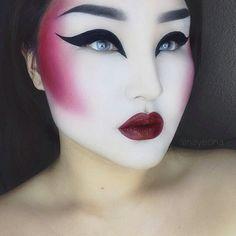 Image result for geisha fashion makeup