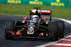Grosjean is the most dominant qualifier 16-1 over Maldonado in 2015 #MexicoGP #Grosjean #LotusE23