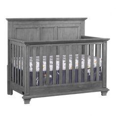 Gray Medford Lifetime Crib By Munire Baby Burton Cribs