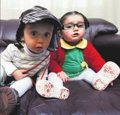 El Chavo y la Chilindrina | 7 Halloween Costumes For Your Mexican Baby