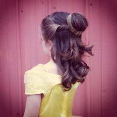 Princess Belle hair