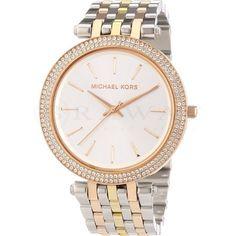 Michael Kors Women's 'Darci' Stainless Steel Rose Gold Watch - Overstock™ Shopping - Big Discounts on Michael Kors Women's Watches Michael Kors Coats, Michael Kors Watch, Stainless Steel Watch, Stainless Steel Bracelet, Watch Sale, Inspirational Gifts, Lady, Gold Watch, Bracelets
