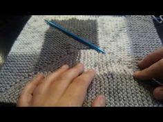 10 stitch blanket no ridge joining technique - YouTube