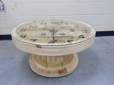 Wire Spool Coffee Table Designs