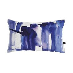 Inject bold colour into your home with this Metropolis cushion from Amy Sia. Its large, abstract watercolour print sees vibrant purple colouring span across its crisp white cotton front. Complement...