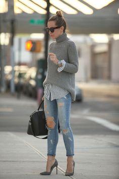 Pullover kombinieren: So stylt ihr Oversize-Pullover und Rollis! (Cool Photography)