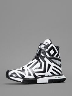 adidas Y-3 Yohji Hayex High - Black / White | KicksOnFire.com