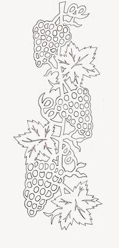 Kreatív gyűjteményem: Őszi filigrán minták 3.