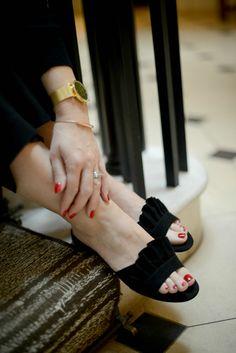 Heels, Champagne Fridays, Cake & Frills - The Online StylistThe Online Stylist