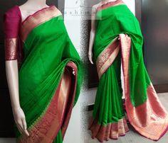 Code:1907170 - Price INR:8950/- , Tussar Banarasi Saree.