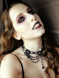 Maquillaje vampiresa