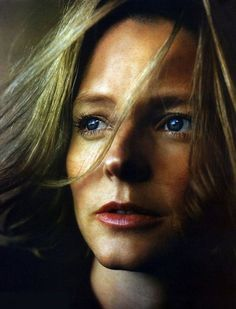 Jodie Foster by Annie Leibovitz, like how the its all natural and stripped back from high fashion