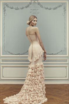 Лукбук коллекции Ulyana Sergeenko Couture весна-лето 2013, Buro 24/7
