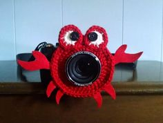 Crab Camera Buddy- Camera Lens Accessory by WyandotteWears - Craftsy
