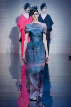 Couture Fall 2012, Armani Prive www.stylebistro.com