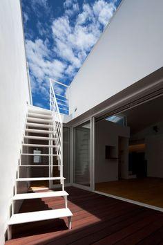 Twin Megaphones residence, Tokyo, designed by Japanese firm Atelier Tekuto.