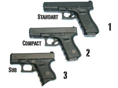 Glock 9MM. In my opinion, Glocks are the most well-engineered 9MM pistols around.
