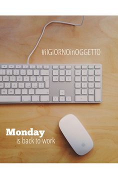 #ilgiornoinoggetto: Monday is back to work